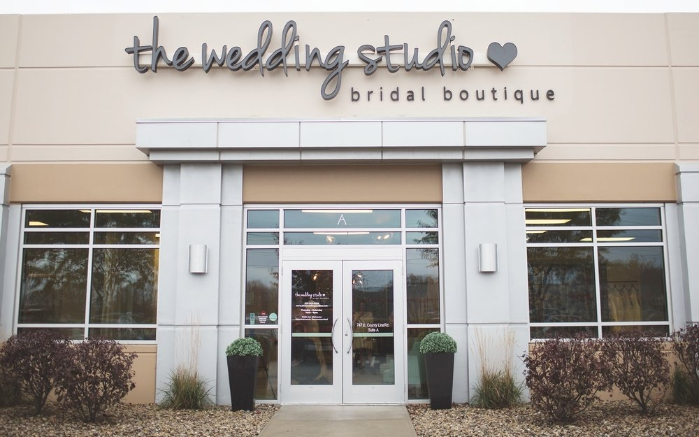 The Wedding Studio Wedding Dress Bridal Boutique in Greenwood Indiana