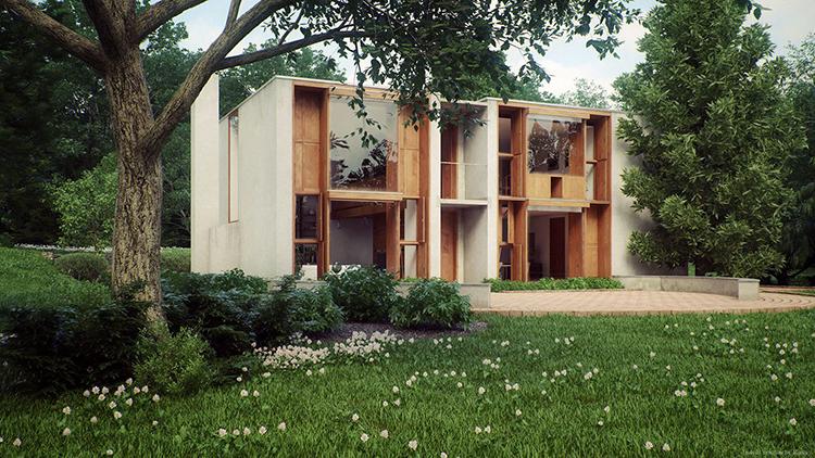 Esherick house Louis Kahn 05
