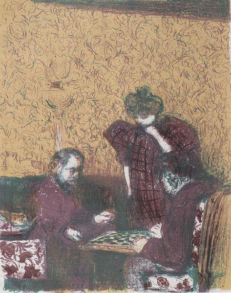 473px-Édouard_Vuillard_-_Die_Damepartie_-_1899