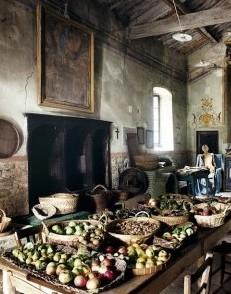house-tour-world-of-interiors-farmhouse-monastery-apples-fruit