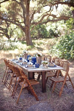 Rustic-Outdoor-Wedding-Woodsy-Table-249x375