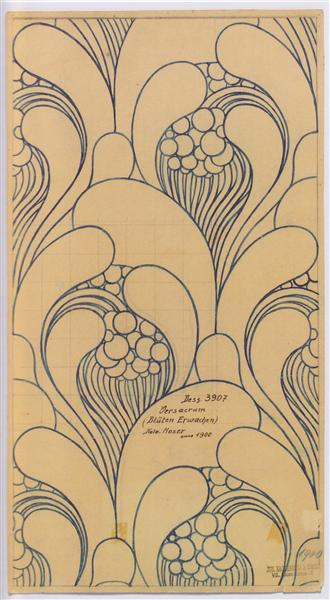 koloman moser fabric design