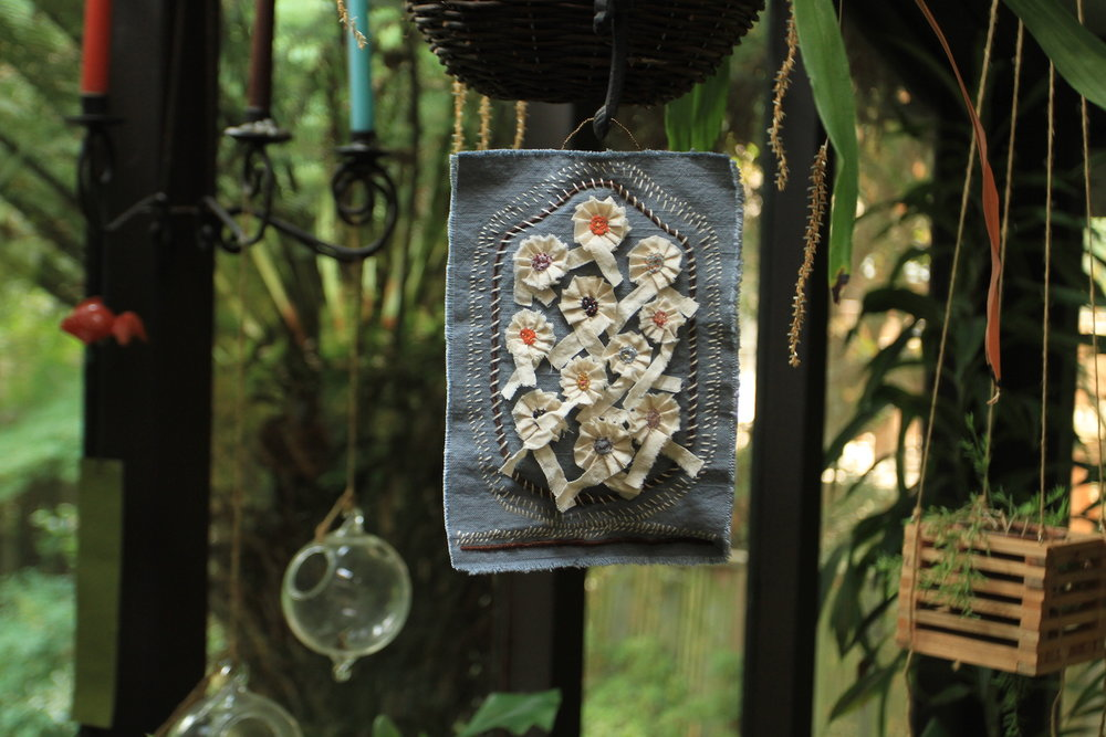 textile art hanging no. 1