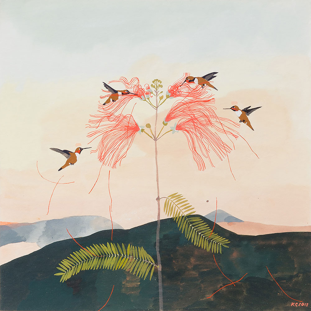 Katrin Coetzer: mimosa