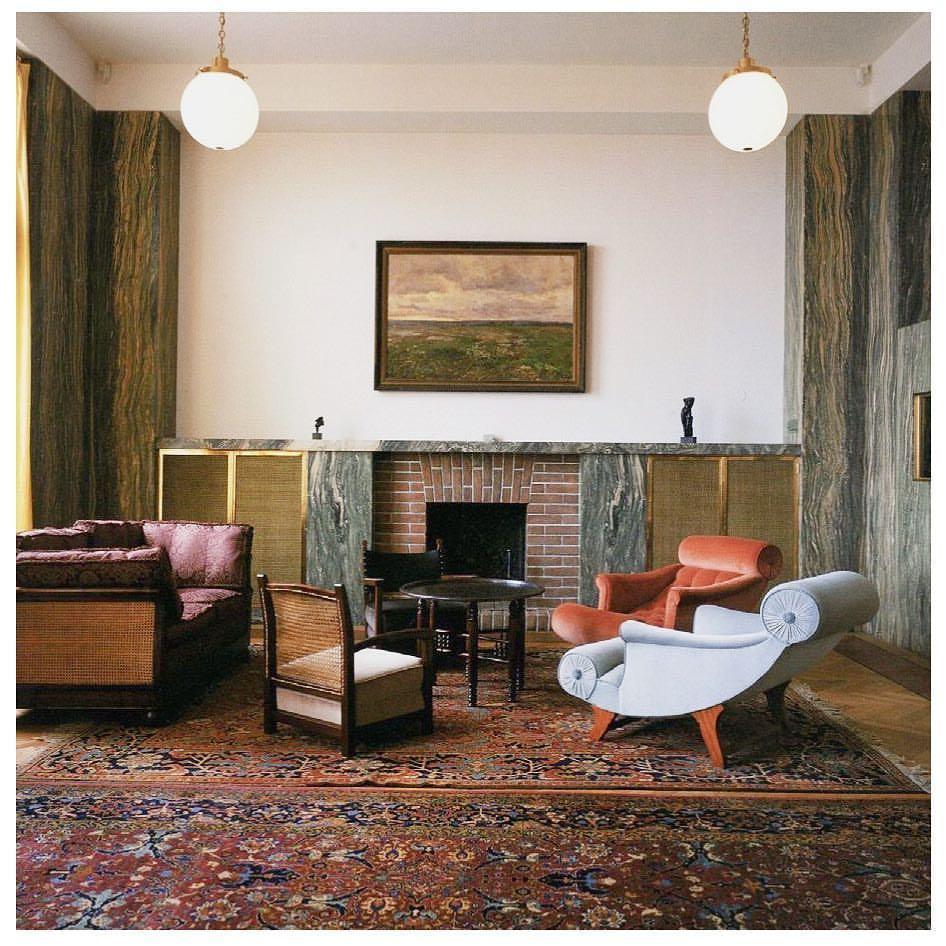 Adolf Loos lounge chairs
