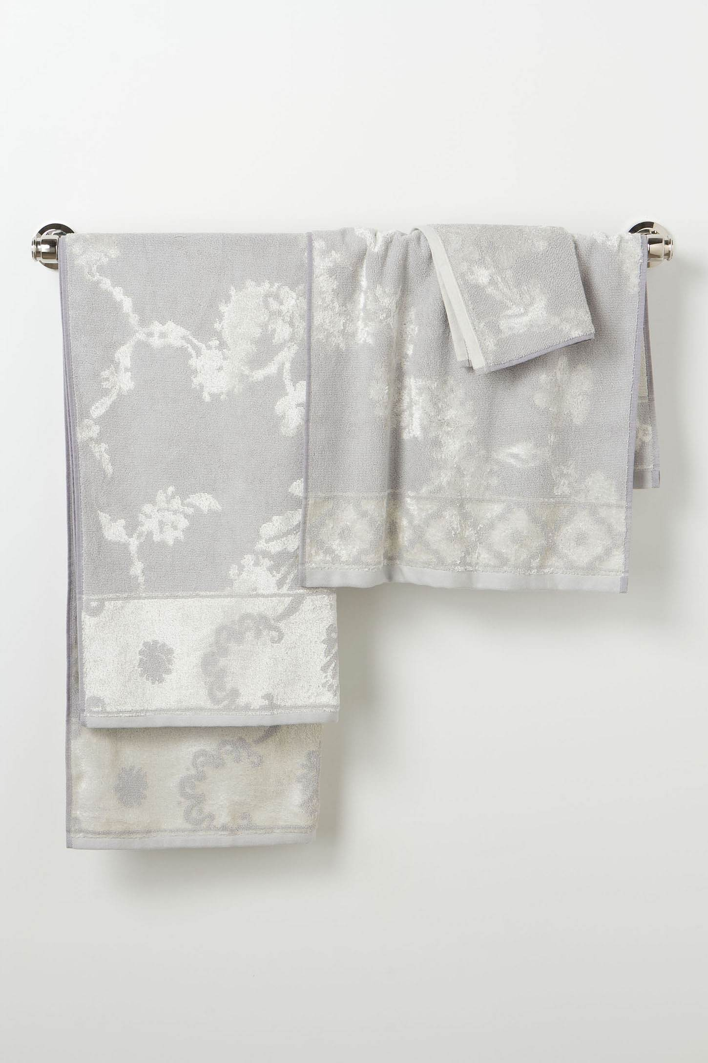 vintage towels for pink bathroom tile anthropologie