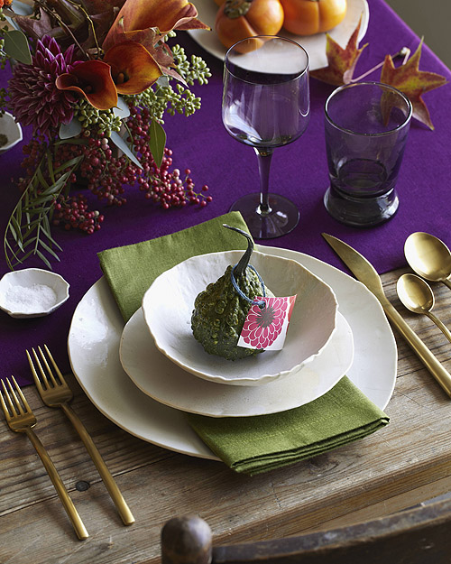 thanksgiving tables cape table setting place dishes flatware glassware centerpiece linens holiday decor design sponge apartment envy matt armendariz