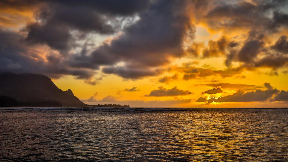 Copy of Hanalei Bay Sunset
