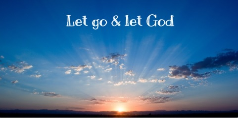 happiness Depends let go and let God.jpg