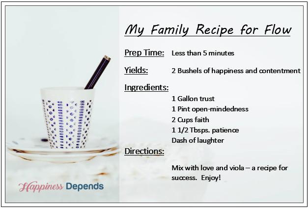 Flow recipe