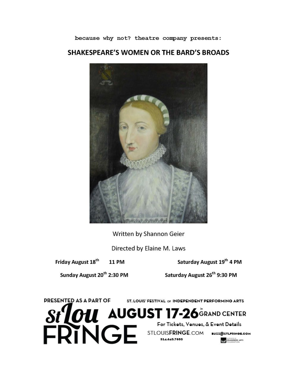 Shakespeare's Women Flier.jpg