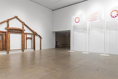 Installation view, The Propeller Group , Blaffer Art Museum June 3-September 30, 2017 Photo: Peter Molick, © Blaffer Art Museum.