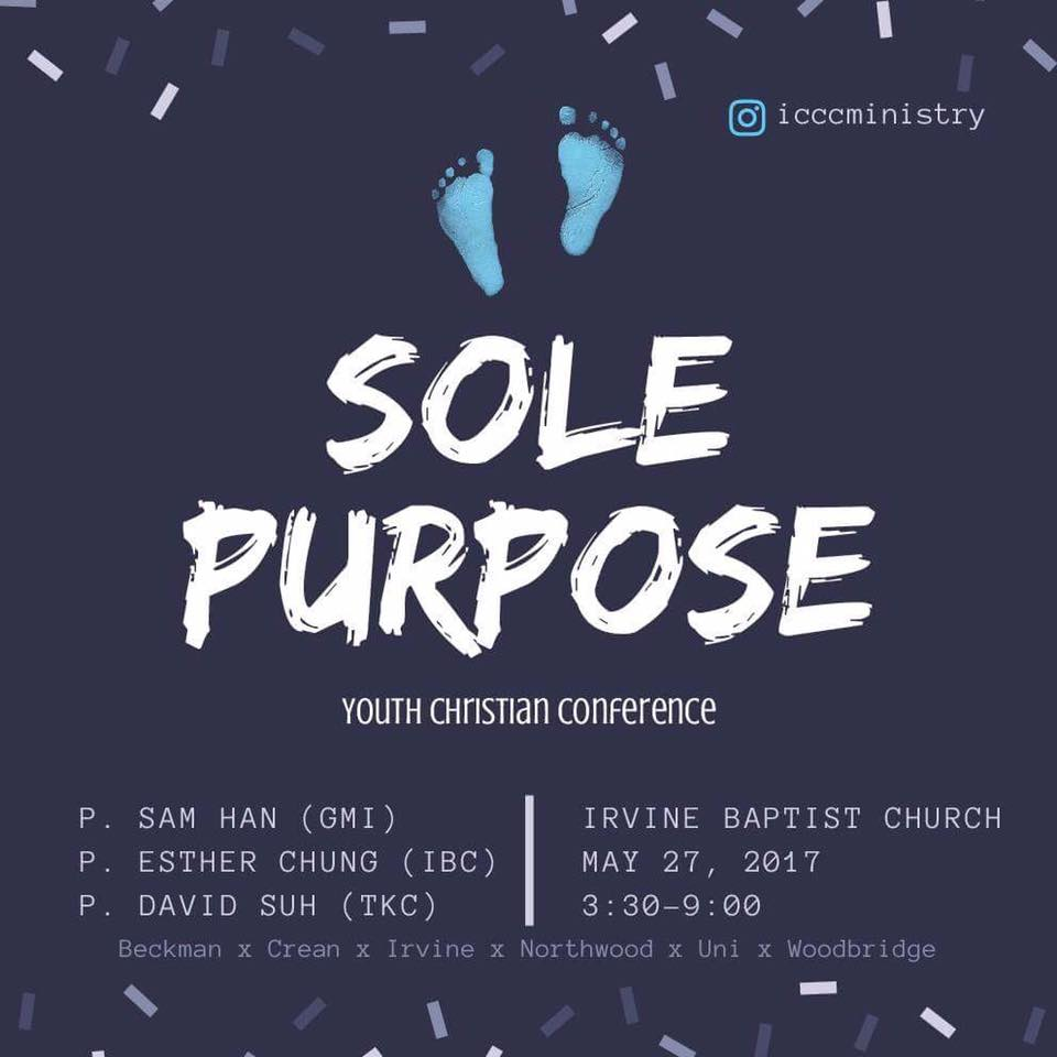 ICCC Youth Conference: Sole Purpose — GMI UPPER ROOM
