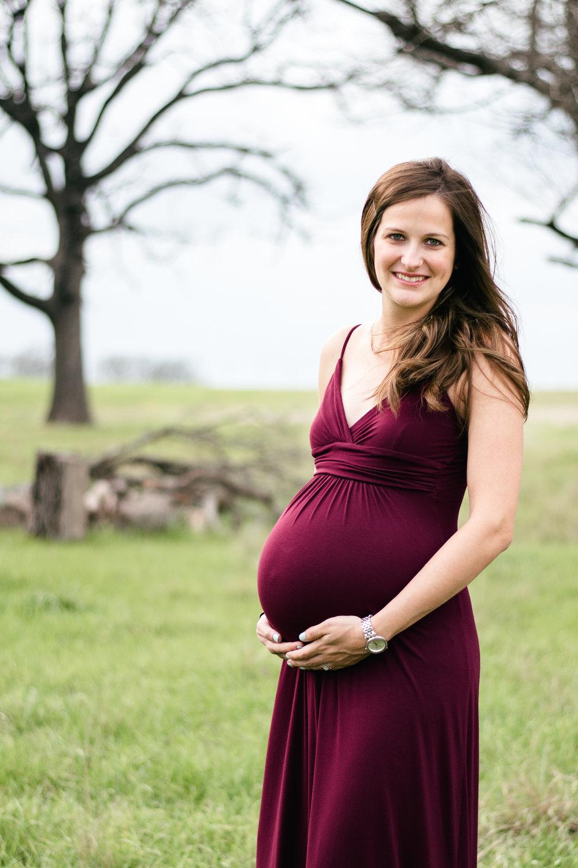 maroon dress maternity