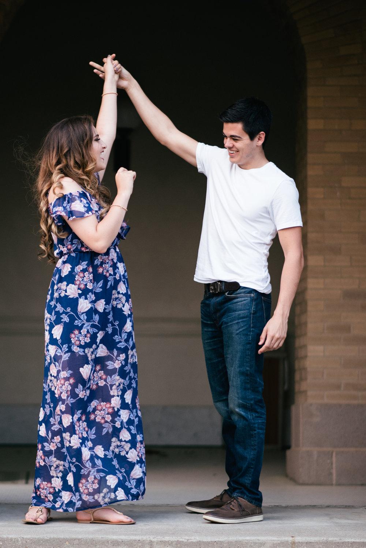 texas a&m senior couple dancing