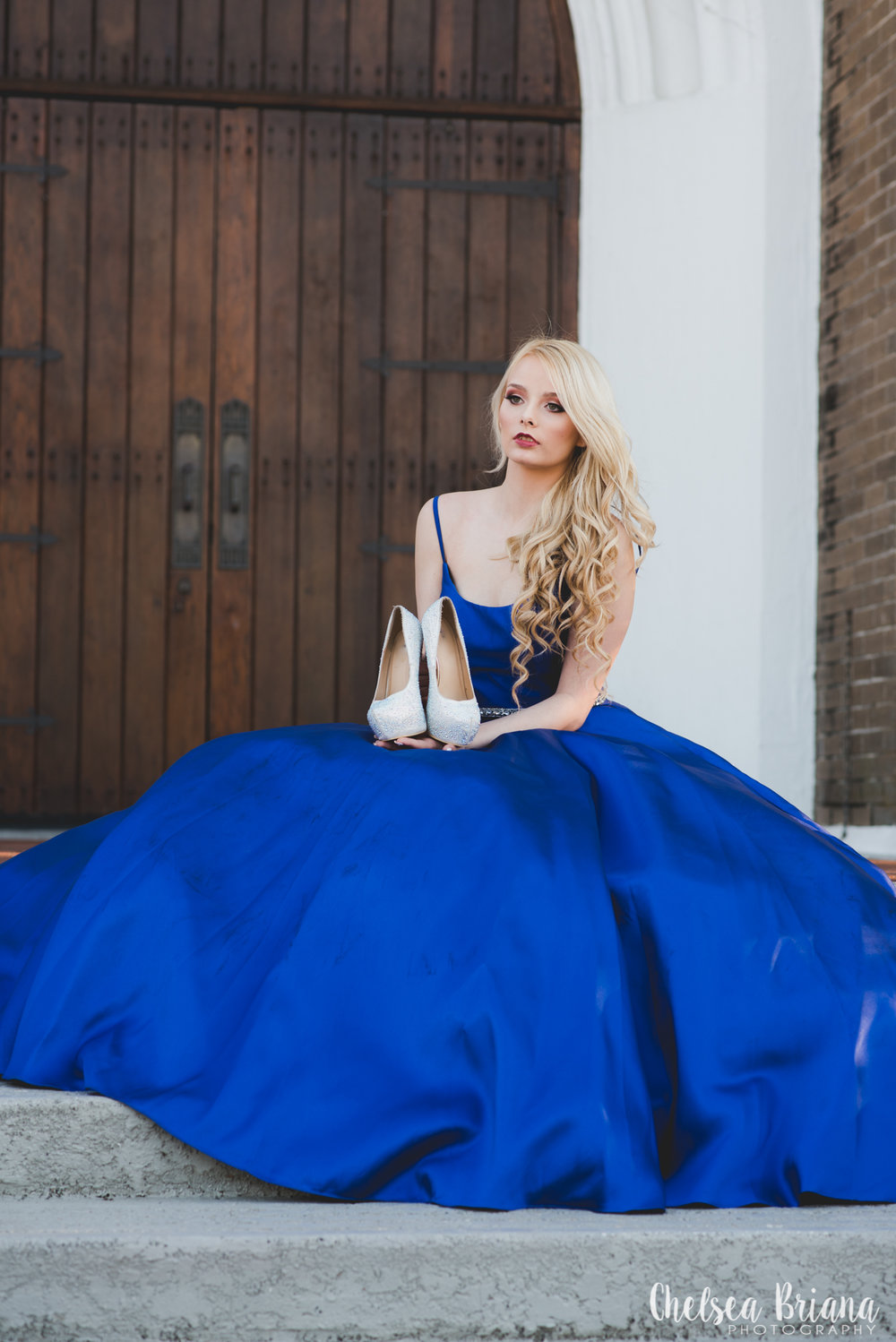 blue-princess-gown-and-shoes