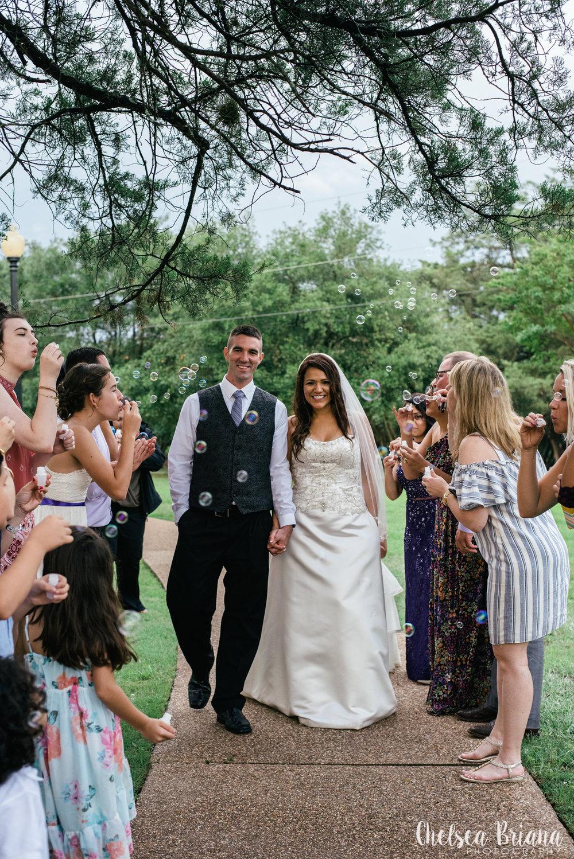 bubble-wedding-exit
