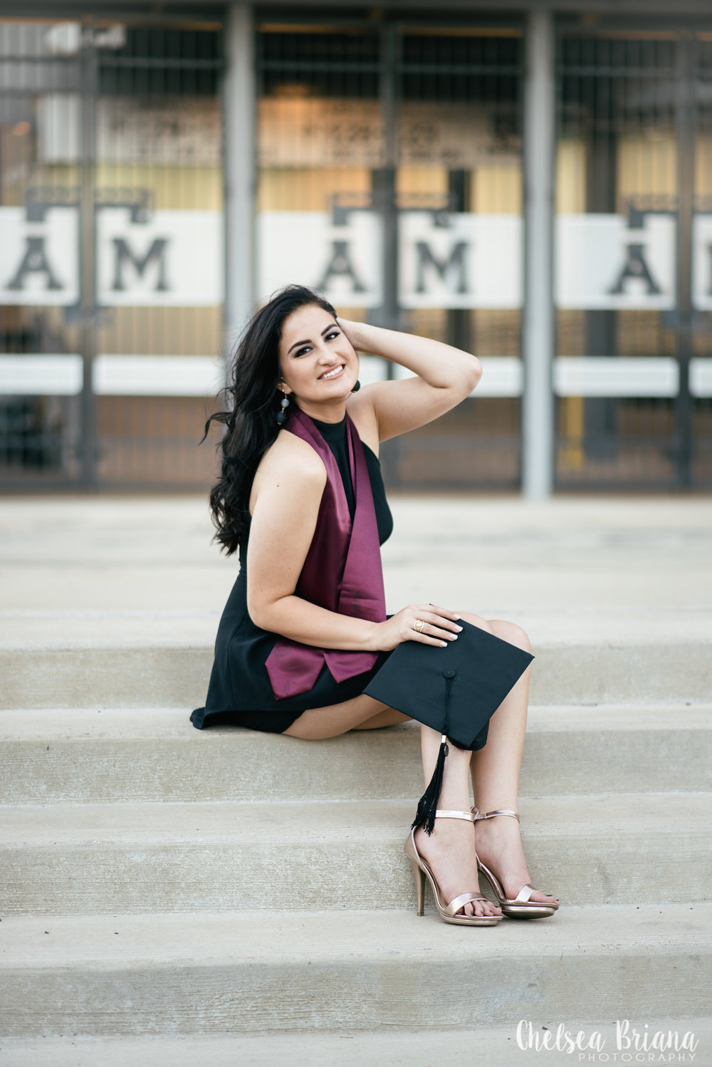 Texas A&M senior pictures