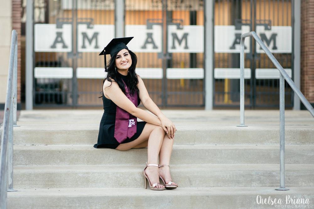 A&M senior campus pictures