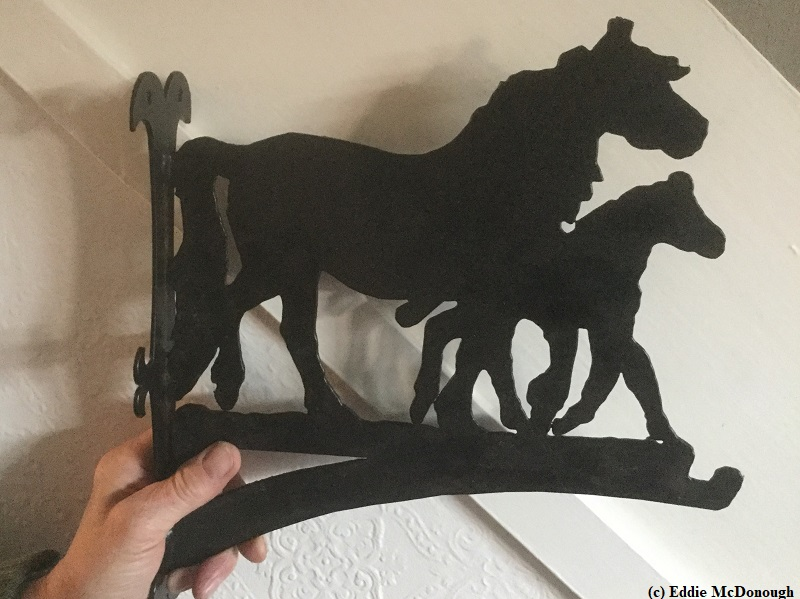 Fell Pony Hanging Bracket courtesy Eddie McDonough