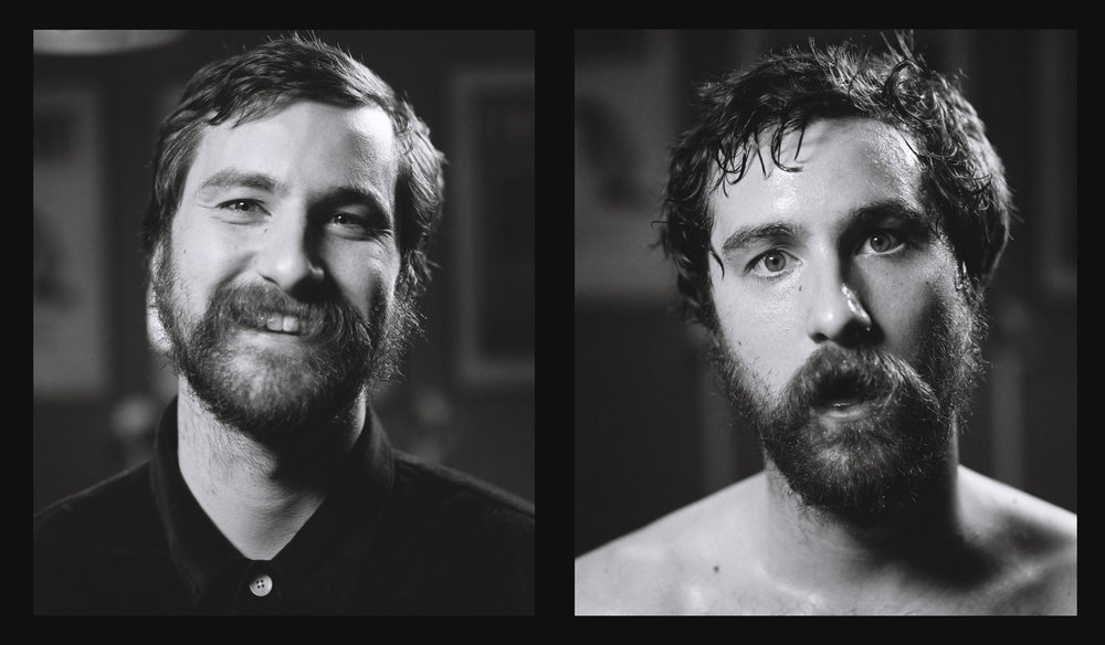 Project Sweat:  Idles guitarist Bowen right before and after a show