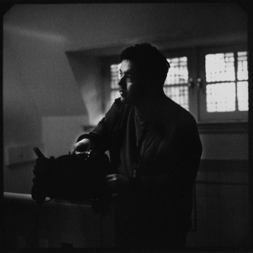 Niko Swart, DP of 'Choices' (2017) Shot on black and white peel apart polaroid