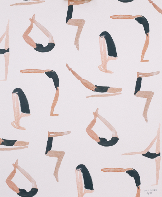 Yoga Class  by Sara Combs    I own this and I adore it. What more do you need to know?