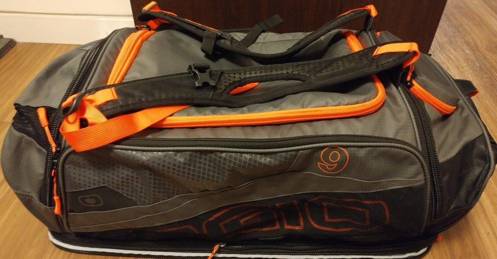 e7762163823 The Traveling Triathlete  Ogio 9.0 Athletic Bag Review — Team Unicorn  Sparkle Adventure