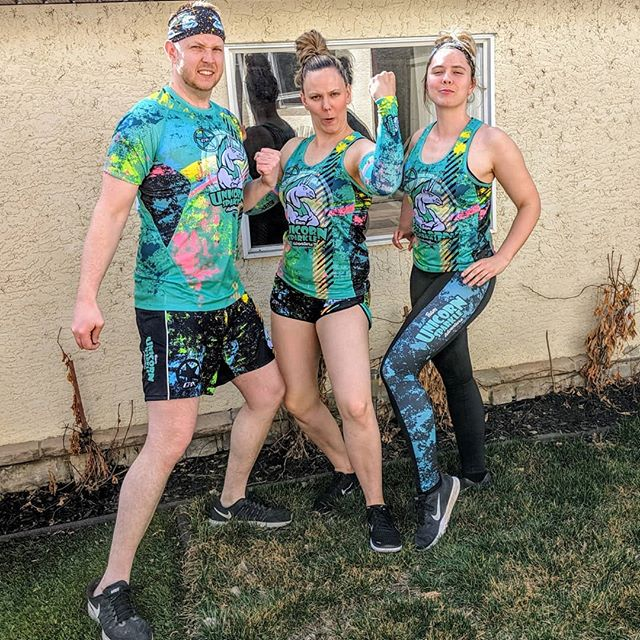 This just in: With #summer nearly here, Unicorn sightings are on the rise! 🦄  Big thanks to @epixgear for making sure we're as high vis as possible for 2019.  #epixgear #newkitday #teamunicornsparkleadventure #gohardlookfierce #race #run #jump #stretch #outside #perform #teamspirit #triathlon #runners #readytorace #2019  @natschneck @krissyschneck @sacdet