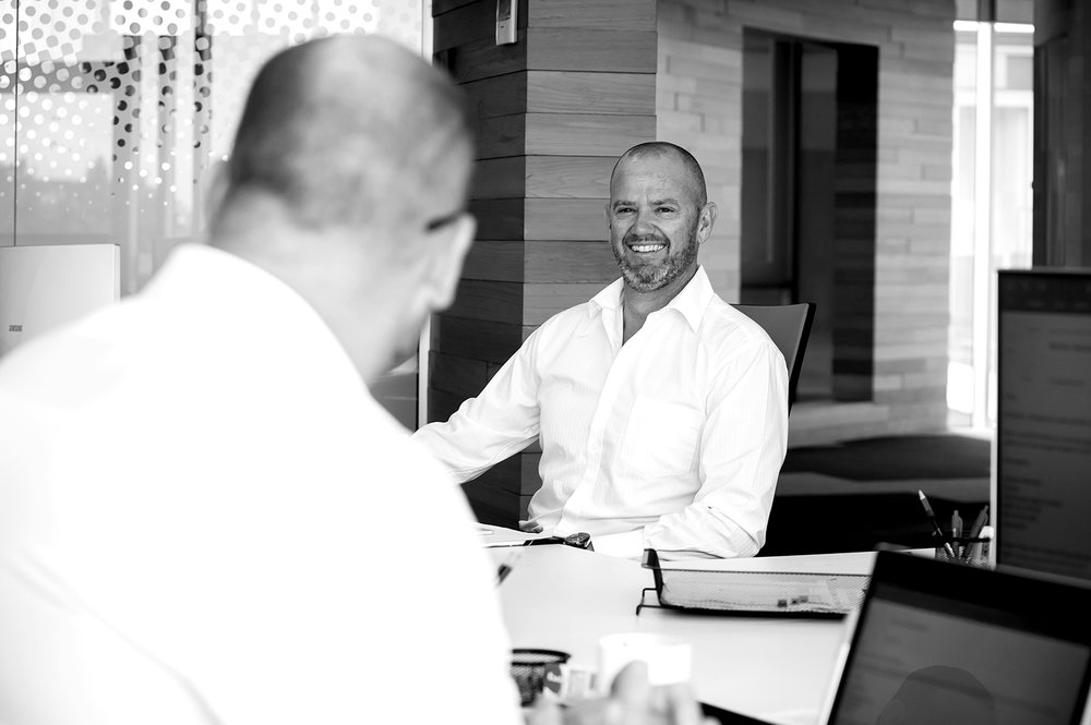 Orbis team: Stuart Kingdon and Stephen Fredricson