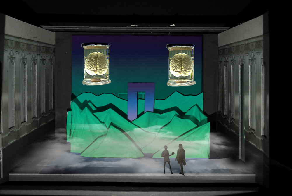 Camino Real Stage Model