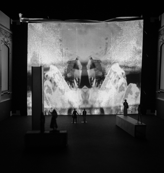 Ermione /Opera Stage Design  / Study in Model Vienna 2014