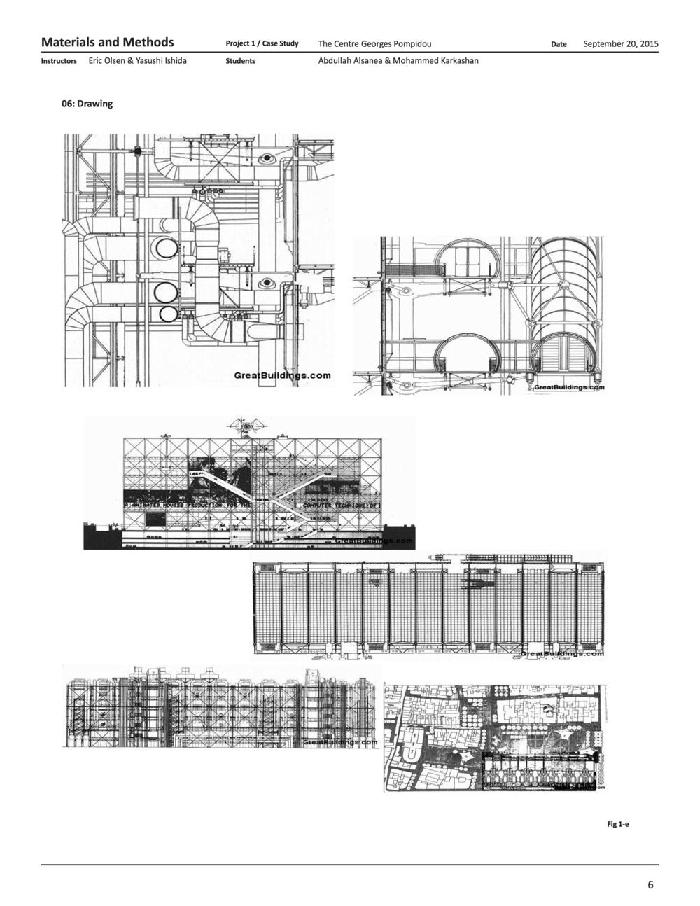 Centre Georges Pompidou Plan