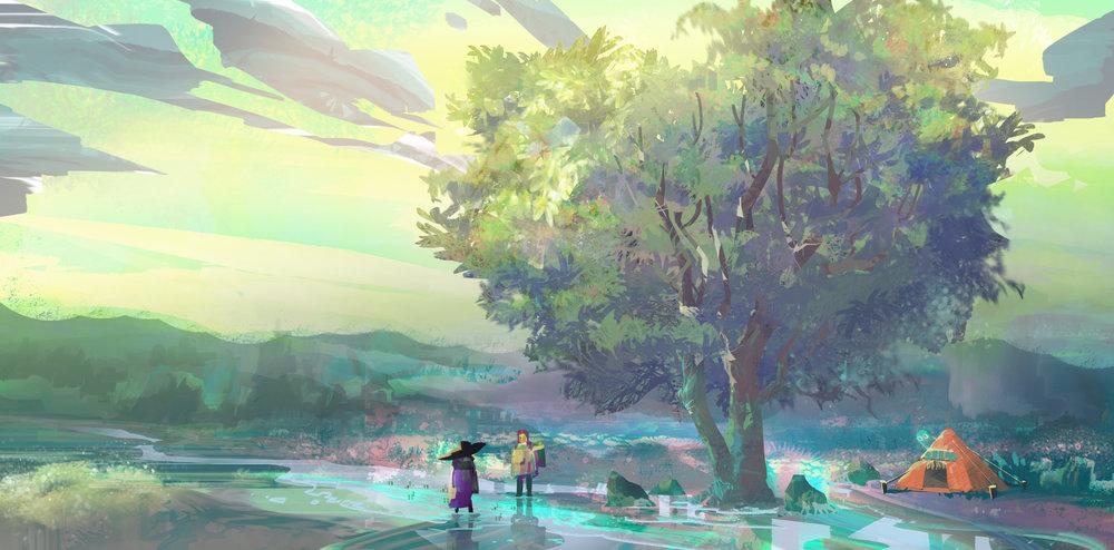Art by: Mona. Shin  Written: 29 August 2018