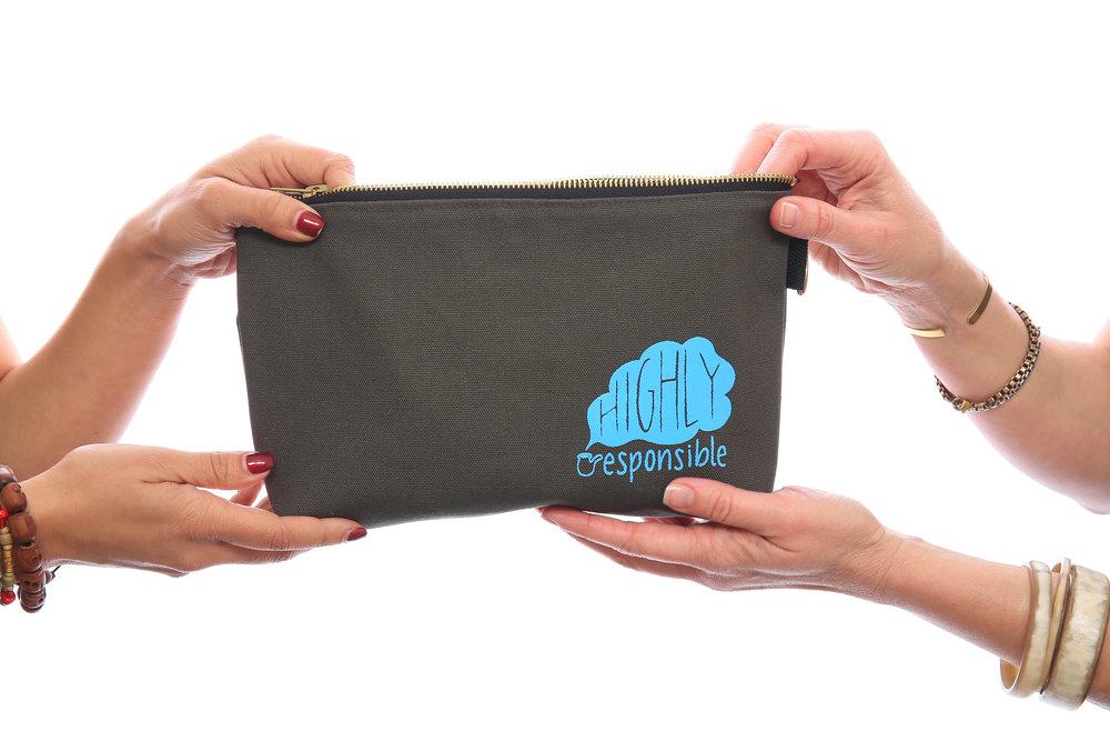 Your highly responsible stash bag!