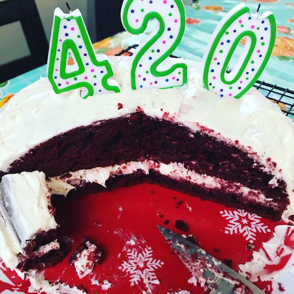 Casually Baked Celebrates 420