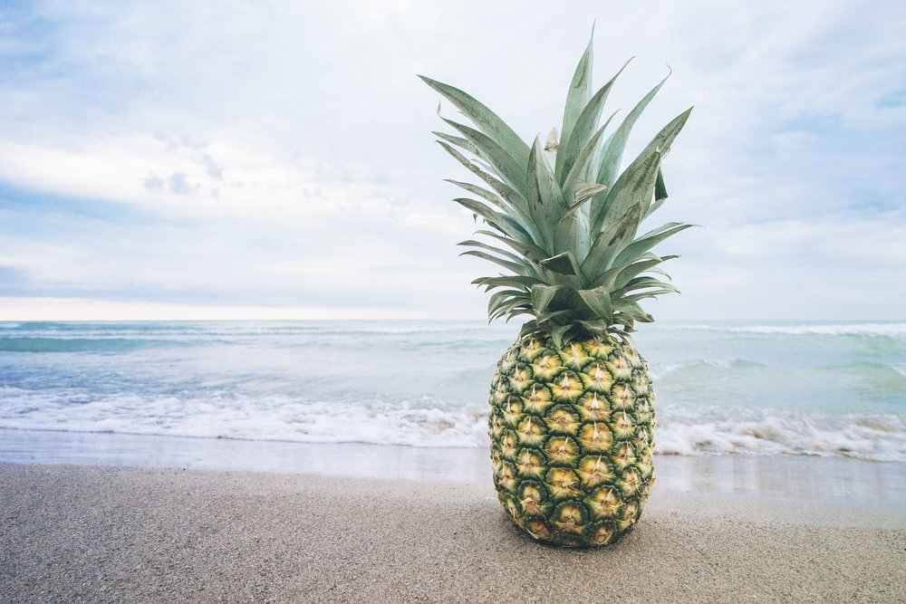 Pineapple is not only healthy but it can improve your taste and smell.