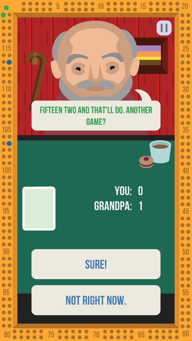 Cribbage with Grandpas