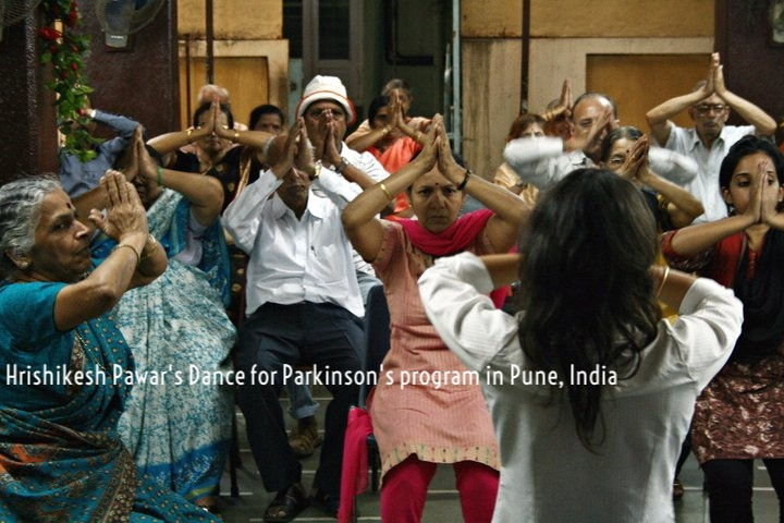 Maithily Bhupatkar, who attended the Brooklyn training workshop in October, leads her Dance for PD class in Pune, India..jpg