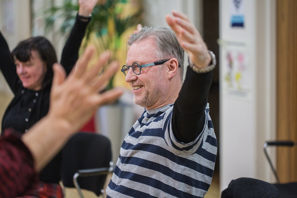 All photography by Sara Hibbert, Dancing with Parkinson's led by Danielle Teale