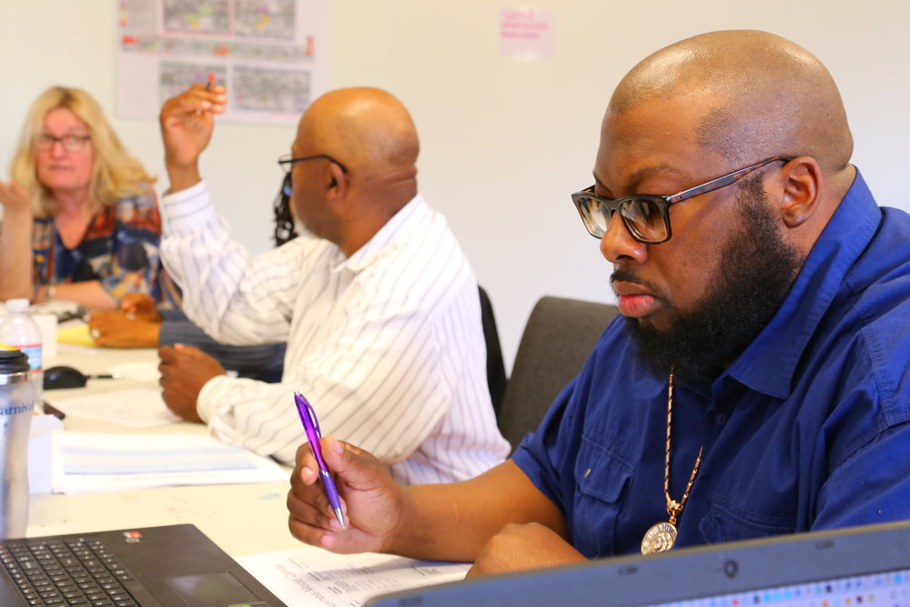 Fryison at the Grow Greater Englewood Food Business Boot Camp in May.