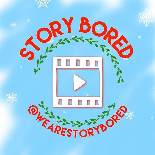 Happy Holidays from the Story Bored family! #storybored #holiday #holidayseason