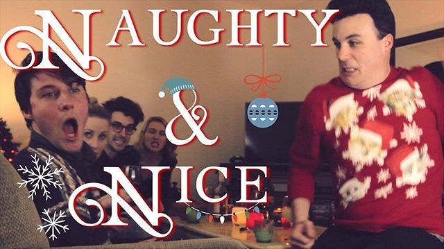 New video out now! Who's Naughty and who's Nice? Find out in Story Bored's holiday video! (🎅🏻Link in Bio🤶🏻) #storybored #naughtyandnice #christmas #eggnog #yule #sketchcomedy