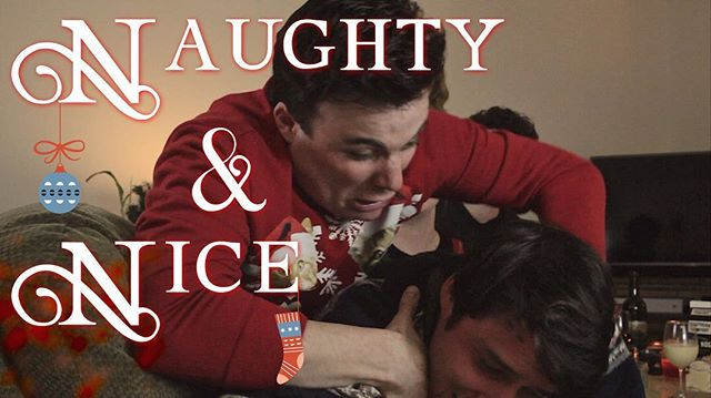 Have you seen our new sketch starring @elainevackles and @cobiabrendan ??? If not check out that link in our bio! #naughty #nice #holiday #christmas #sketchcomedy #sketch