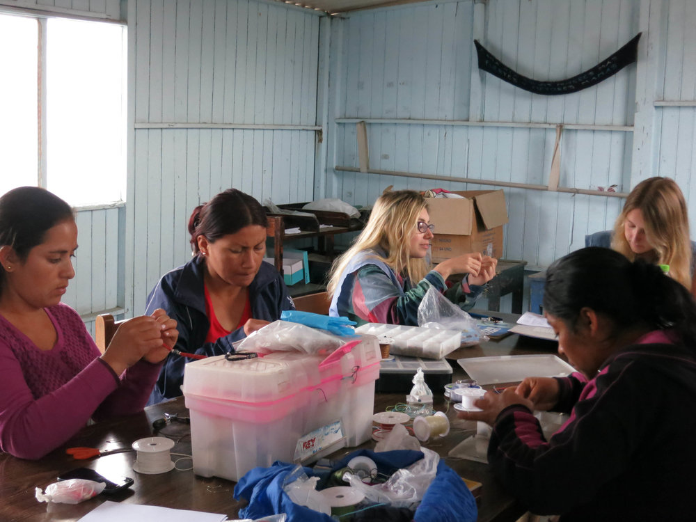SKIP volunteers in Peru