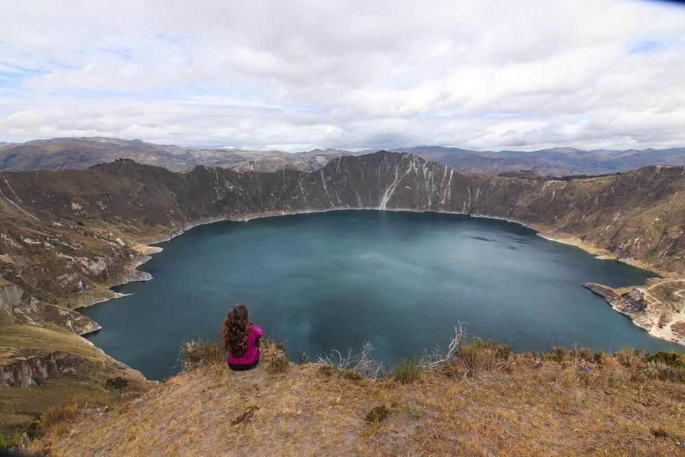 Quilotoa Loop Ecuador Hiking