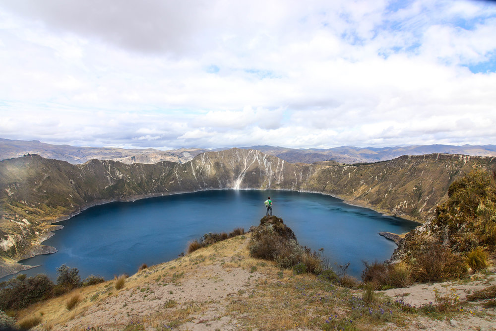 Quilotoa Loop Ecuador South America Hiking