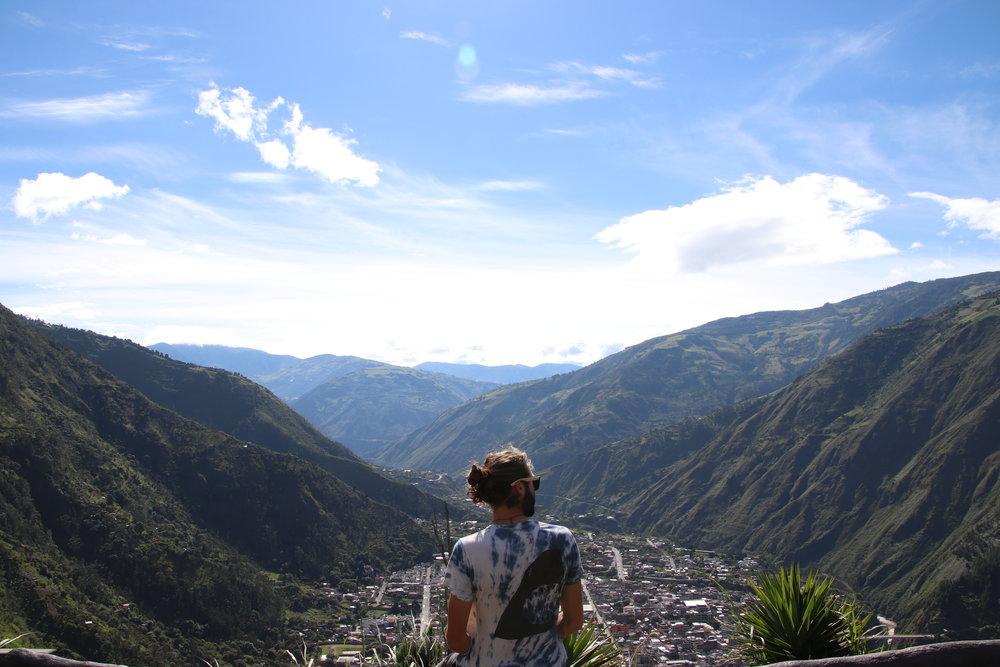 Banos hike Ecuador South America