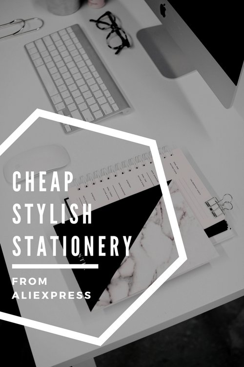 cheap stationery goodies from aliexpress amber duffield skincare