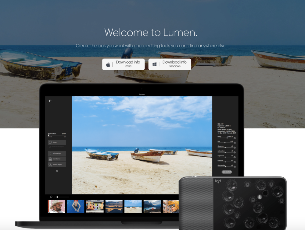 Lumen software